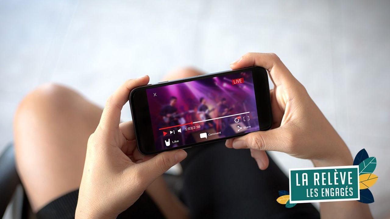 Le monde numérique est marqué par un usage avant tout consumériste avec notamment une utilisation frénétique des palteformes de vidéos à la demande.
