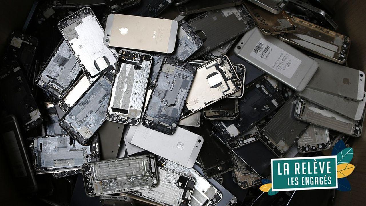 Non recyclés, les téléphones obsolètes ou hors d'usage ont un impact environnemental catastrophique.