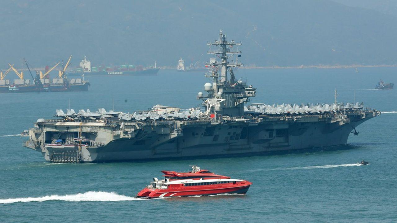 Pékin sanctionne la marine américaine et des ONG — Hongkong