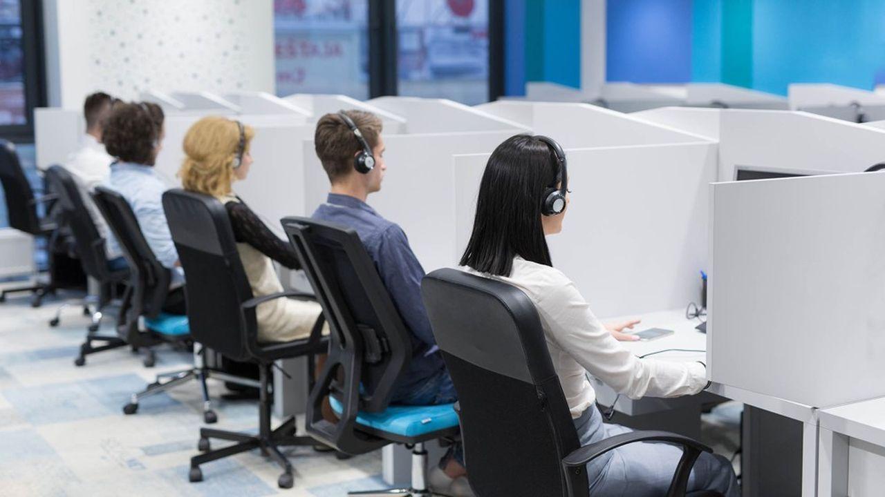 Les collaborateurs d'iQuera travaillent essentiellement au téléphone.