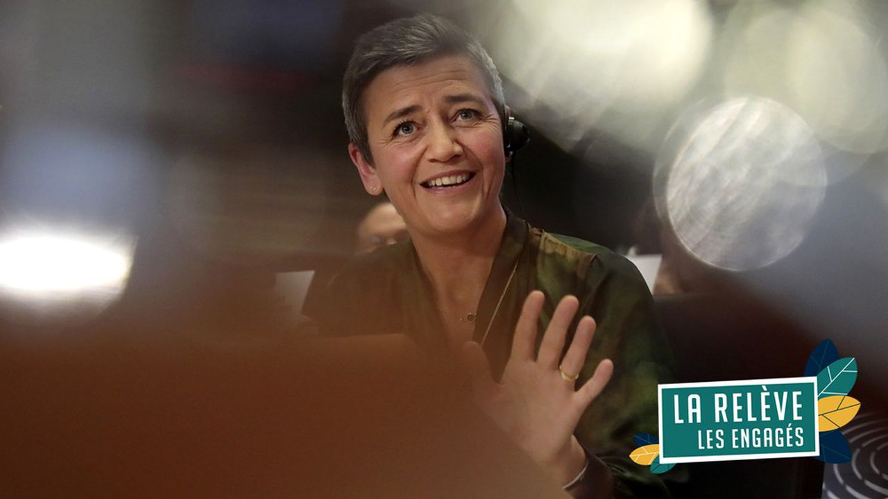 Margrethe Vestager, reconduite à son poste de commisssaire européenne à la Concurrence.