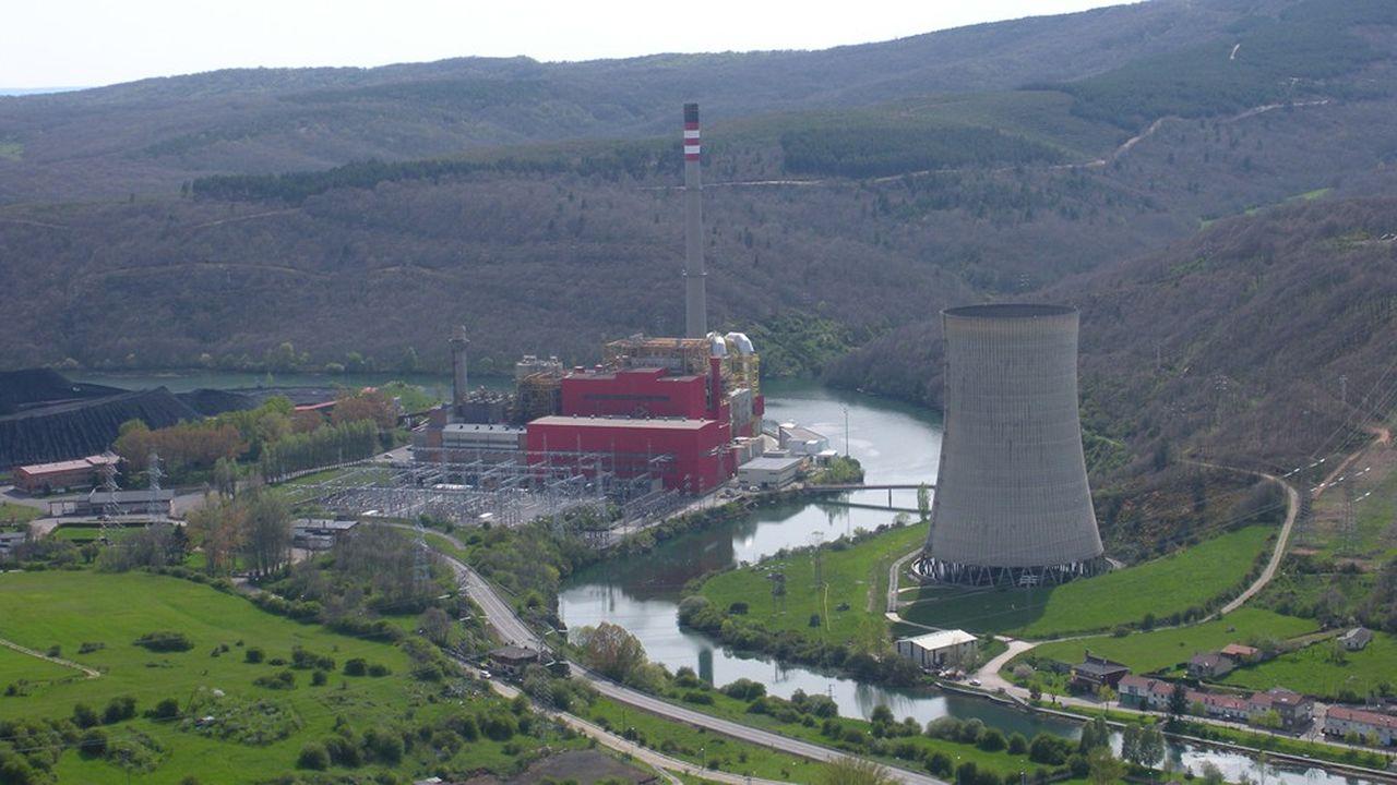 La centrale de Velilla, dans le nord de l'Espagne, est l'un des deux derniers sites de génération d'électricité à partir de charbon d'Iberdrola.
