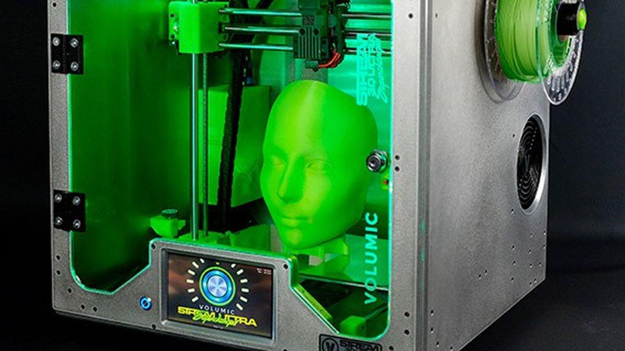 L'imprimante Volumic 3D USC (Ultra Supercharged) a la capacité de produire des petites séries de 500 à 2.000pièces.