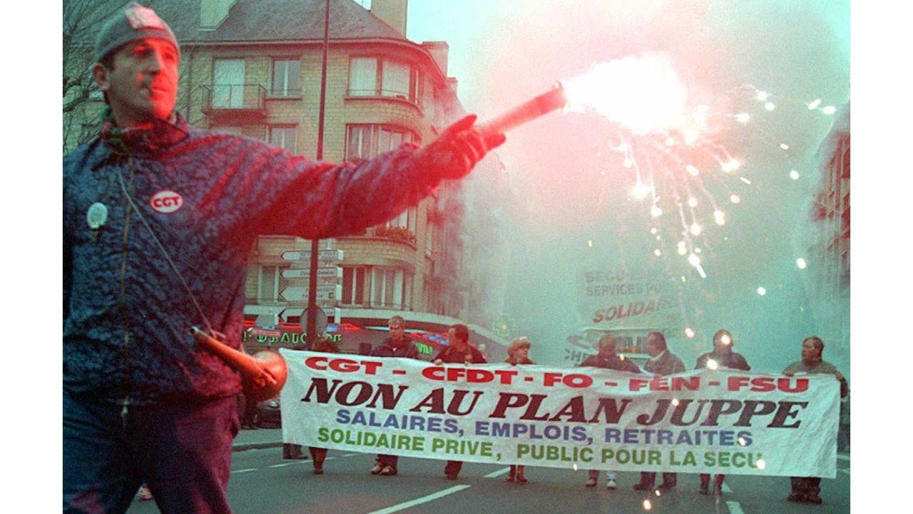 Grèves de 1995 : les moments clé