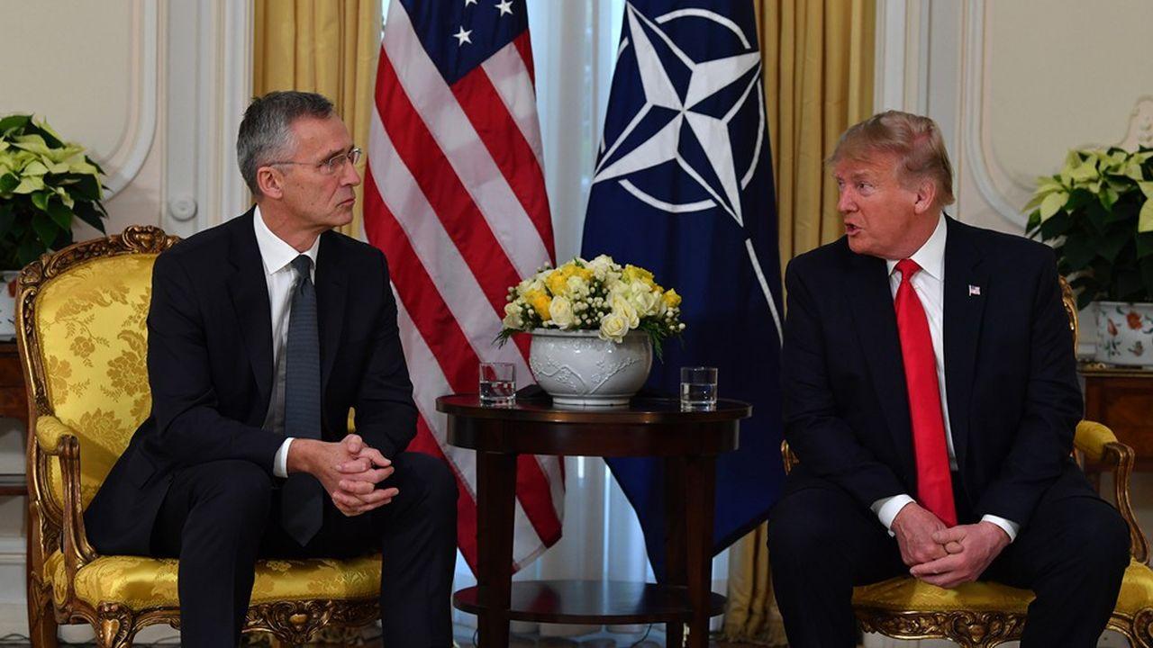 Le président Donald Trump a affirmé, lors d'une conférence de presse conjointe mardi à Londres avec le secrétaire général de l'OTAN Jens Stoltenberg, que le président Macron en affirmant que l'OTAN était en état de «mort cérébrale» avait tenu des propos «insultants» à l'égard des 28 autres alliés.