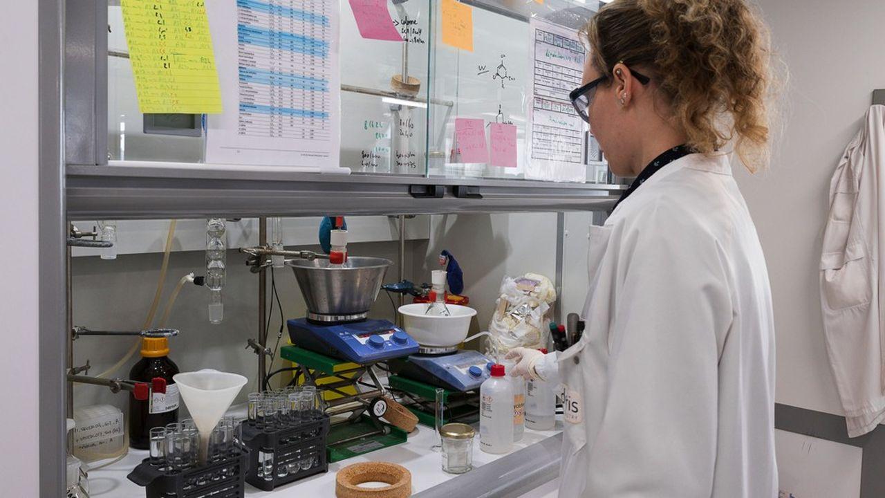 Visite du laboratoires ELDERIS.