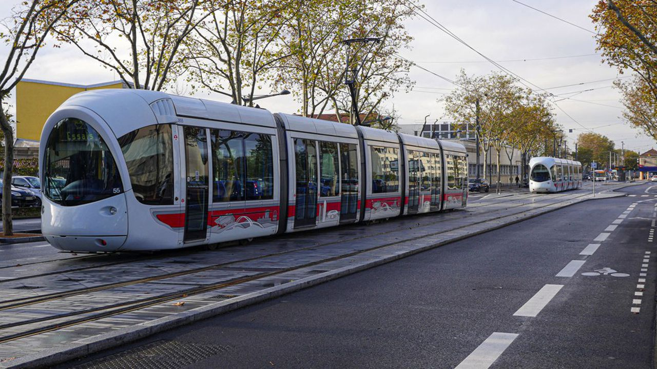 Inauguration du tram T6 le 22 novembre 2019
