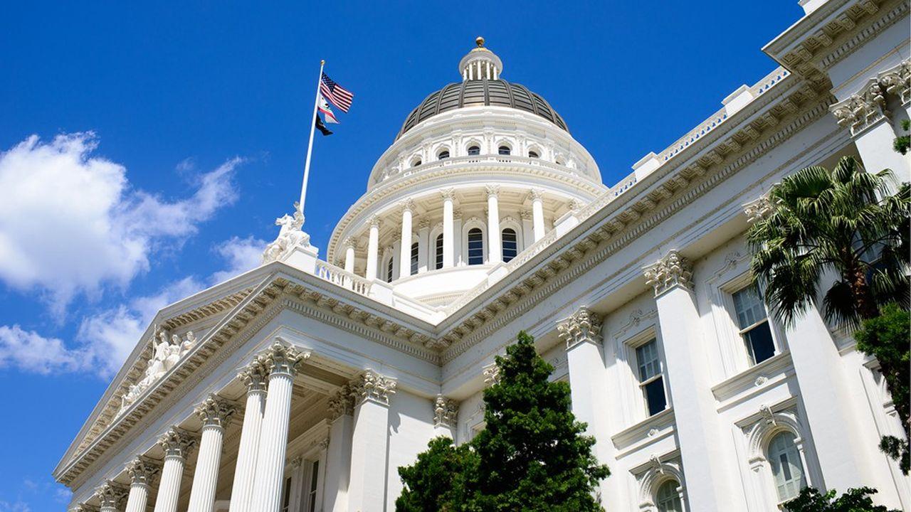 Le Capitole californien à Sacramento.