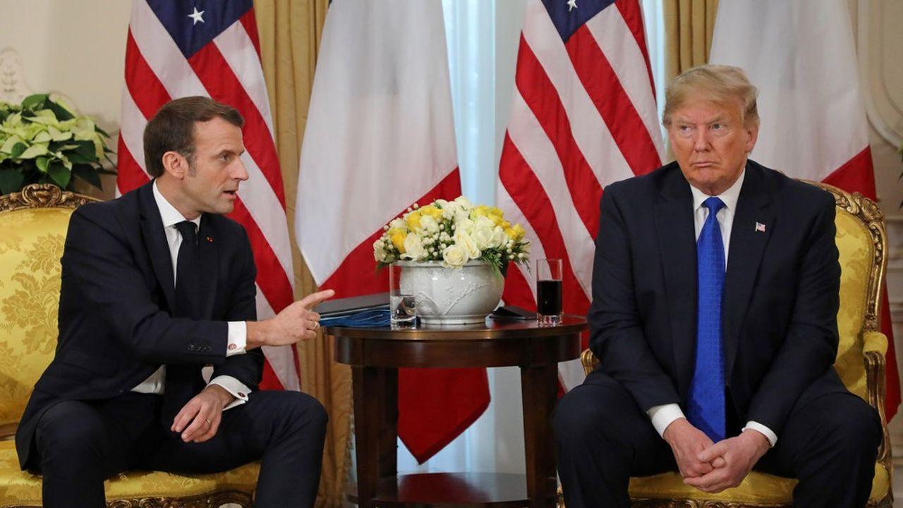 Washington menace de surtaxer des produits français jusqu'à 100%