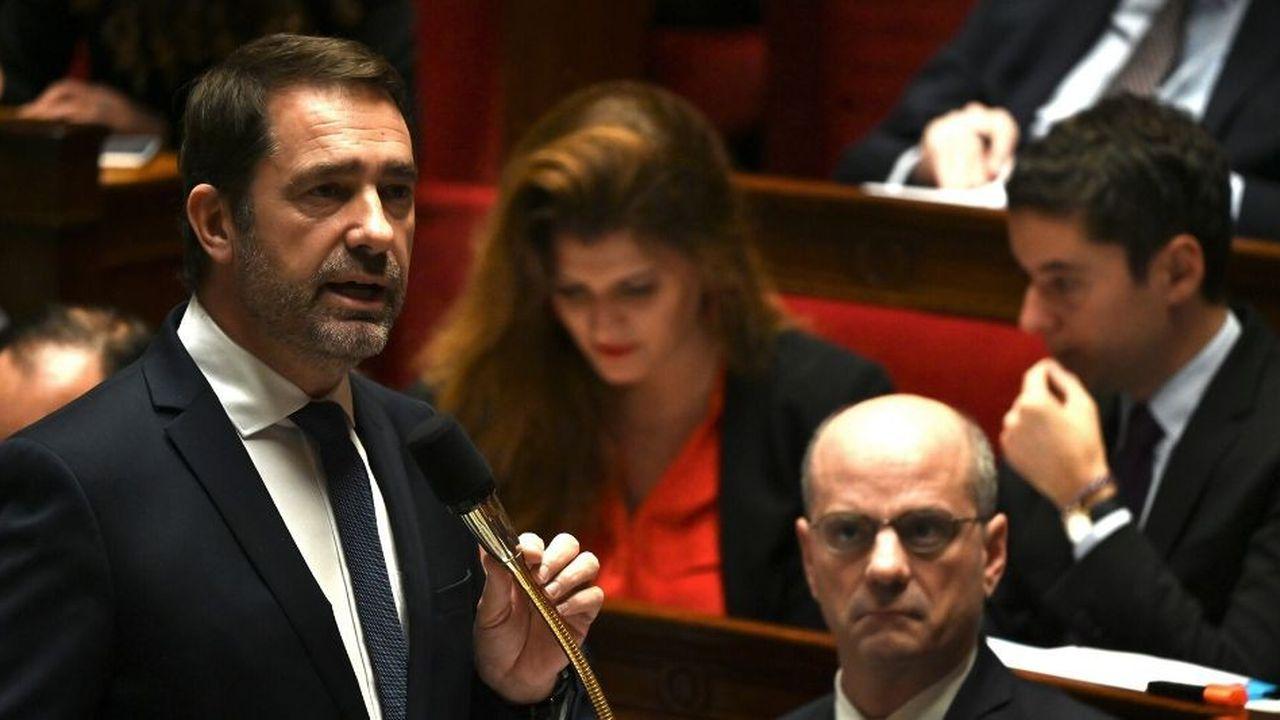 'La haine n'a pas sa place en République, l'intolérance n'a pas sa place en France', a déclaré dans l'hémicycle le ministre de l'Intérieur, Christophe Castaner.