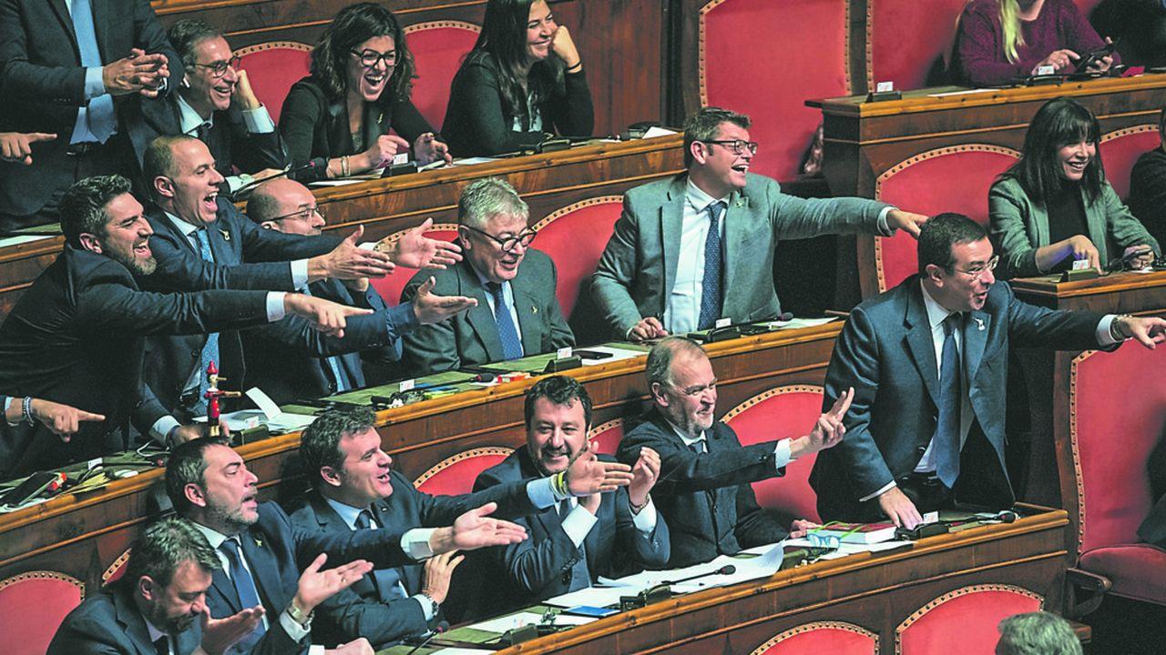 Le gouvernement italien se déchire sur l'Europe