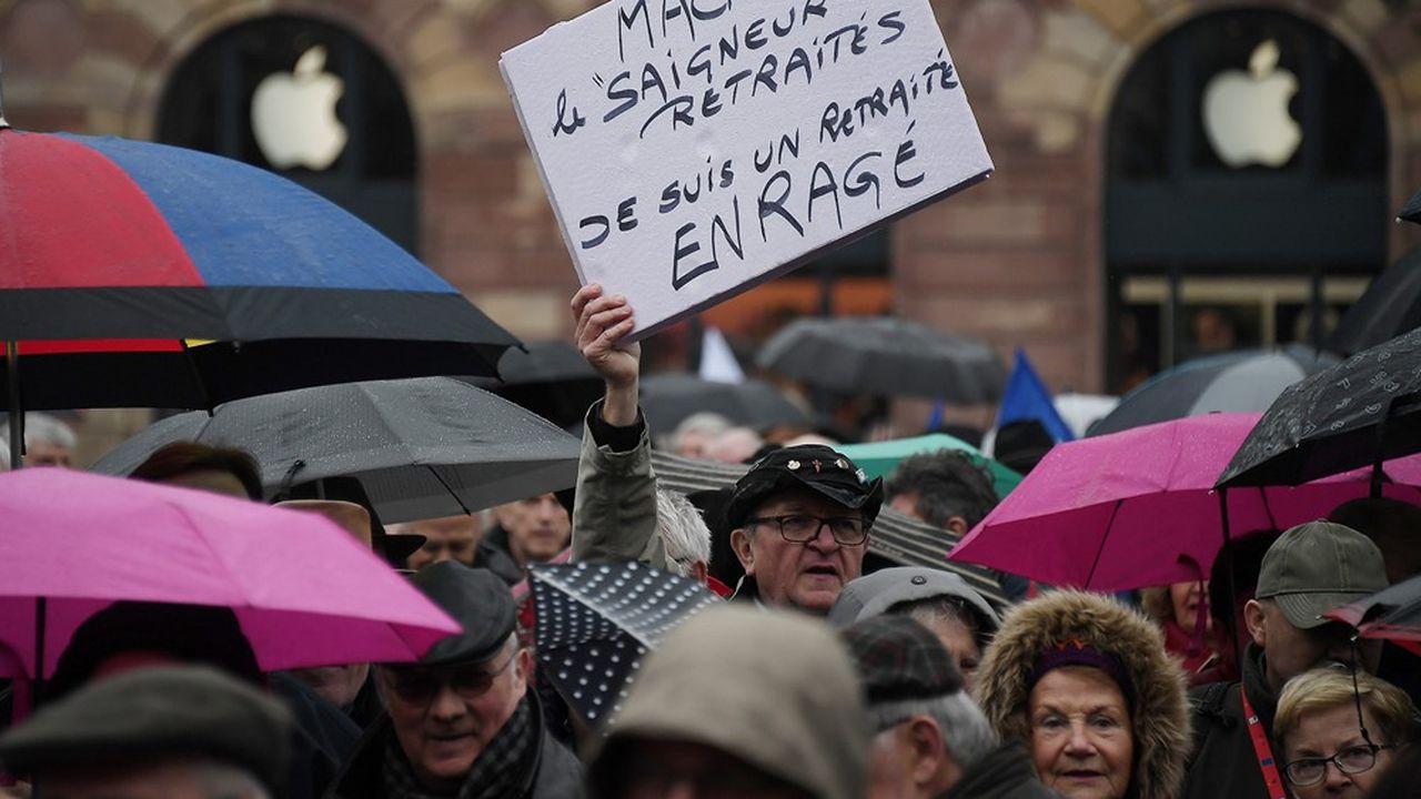 Manifestation, 15 mars 2018 à Strasbourg