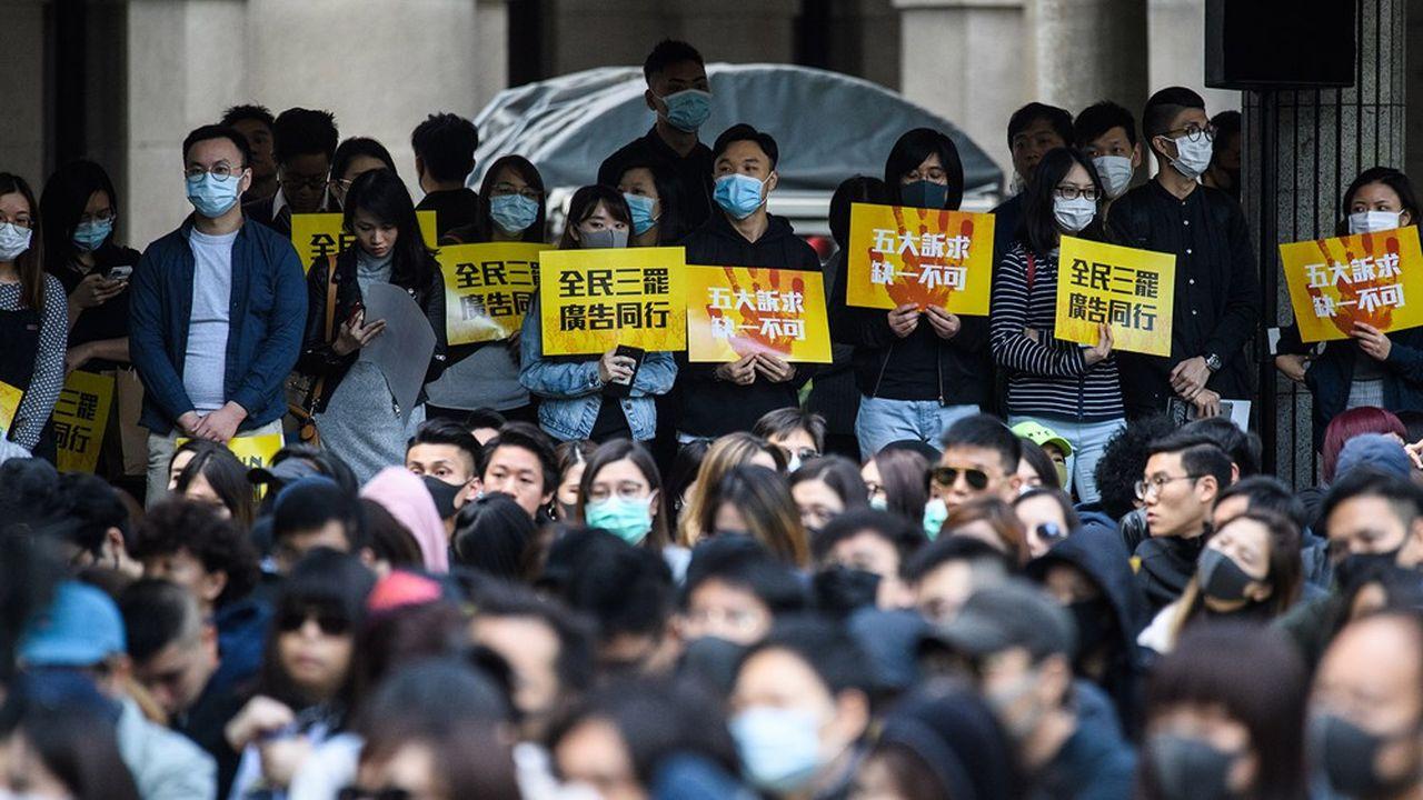 Manifestations à Hong Kong, 2 Décembre 2019