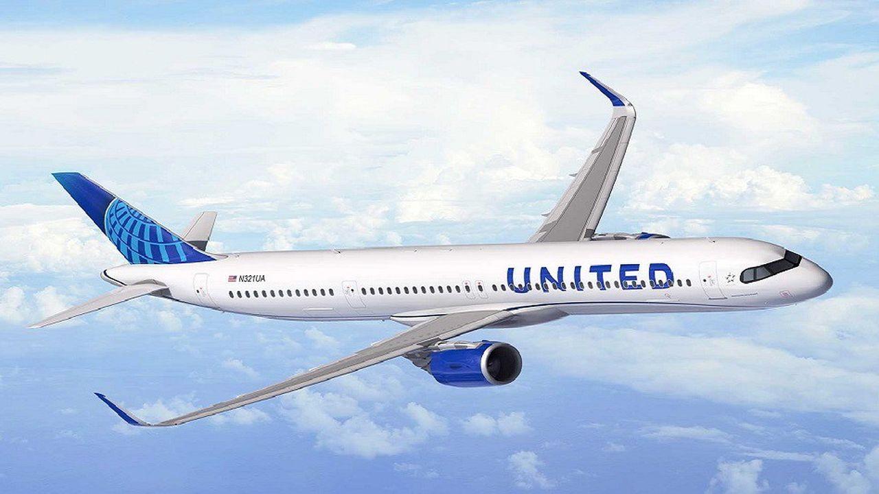 United Airlines a choisi le futur Airbus A321 XLR pour remplacer ses vieux Boeing 757.