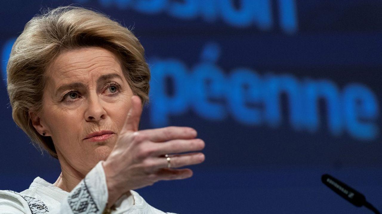 Von der Leyen exhorte les Etats à plus d'ambition sur le budget européen