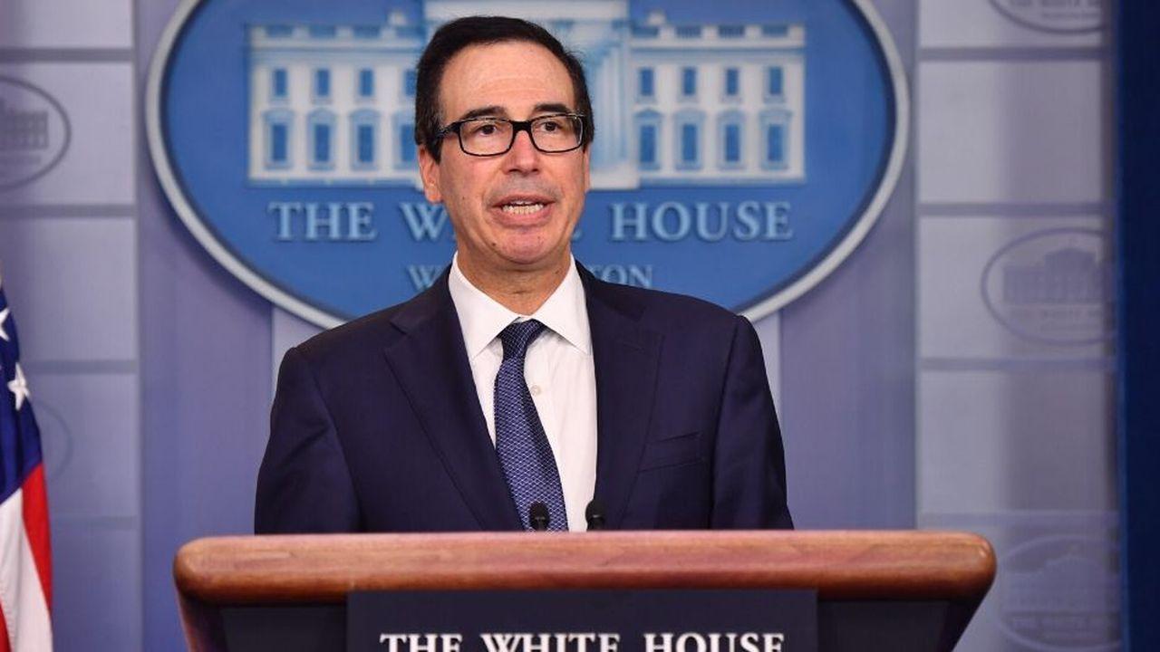 «Les Etats-Unis soutiennent les discussions à l'OCDE pour s'attaquer aux problèmes d'un système de taxation international», a écrit Steven Mnuchin dans sa lettre adressée à l'OCDE.