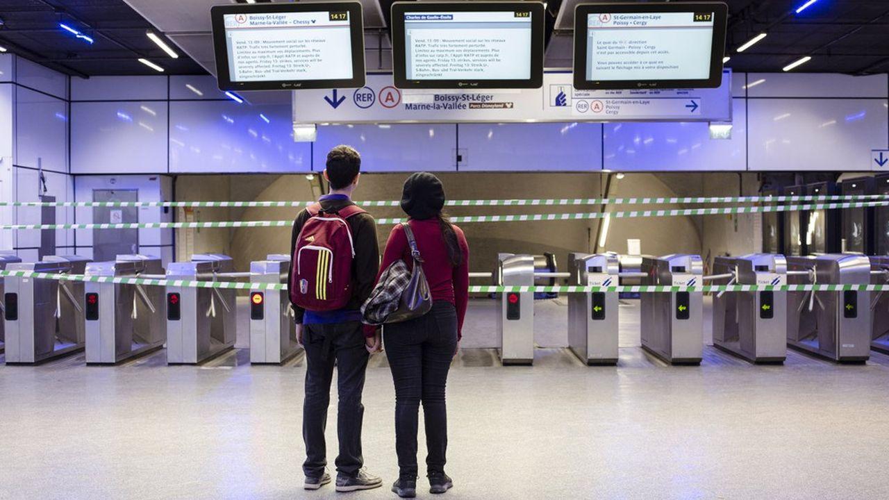 A la RATP, la grève s'annonce longue | Les Echos