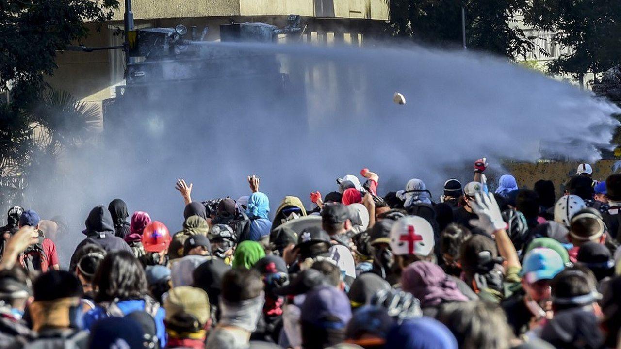 La contestation au Chili contre les inégalités se poursuit depuis le 18octobre.