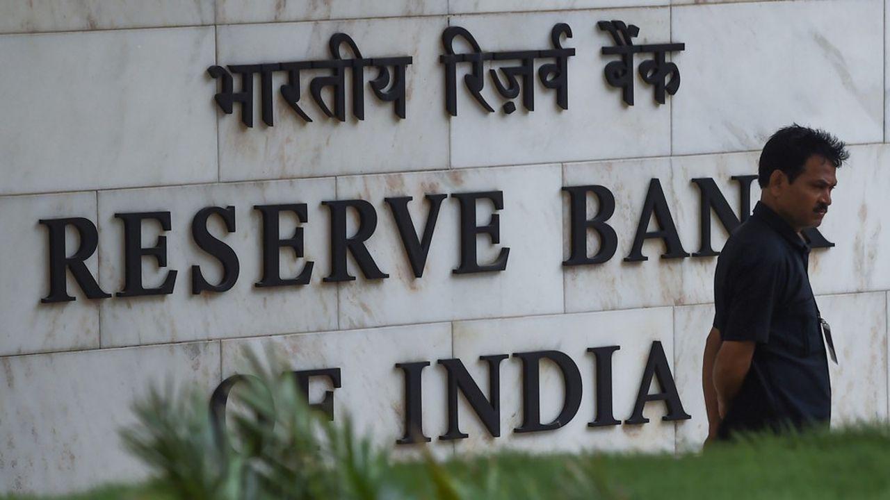 Inde : la Banque centrale revoit ses prévisions de croissance à la baisse