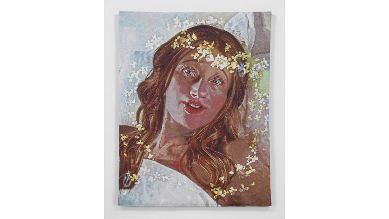 Une tapisserie de Cindy Sherman (10 exemplaires) proposée par la galerie Métro Picture de New York pour 150.000dollars.