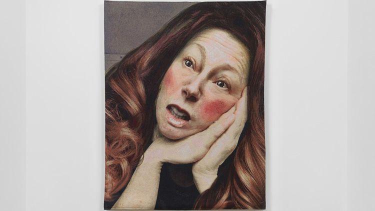 Une tapisserie de Cindy Sherman, édition à 10 exemplaires, proposée par la galerie Métro Picture de New York pour 150.000dollars.