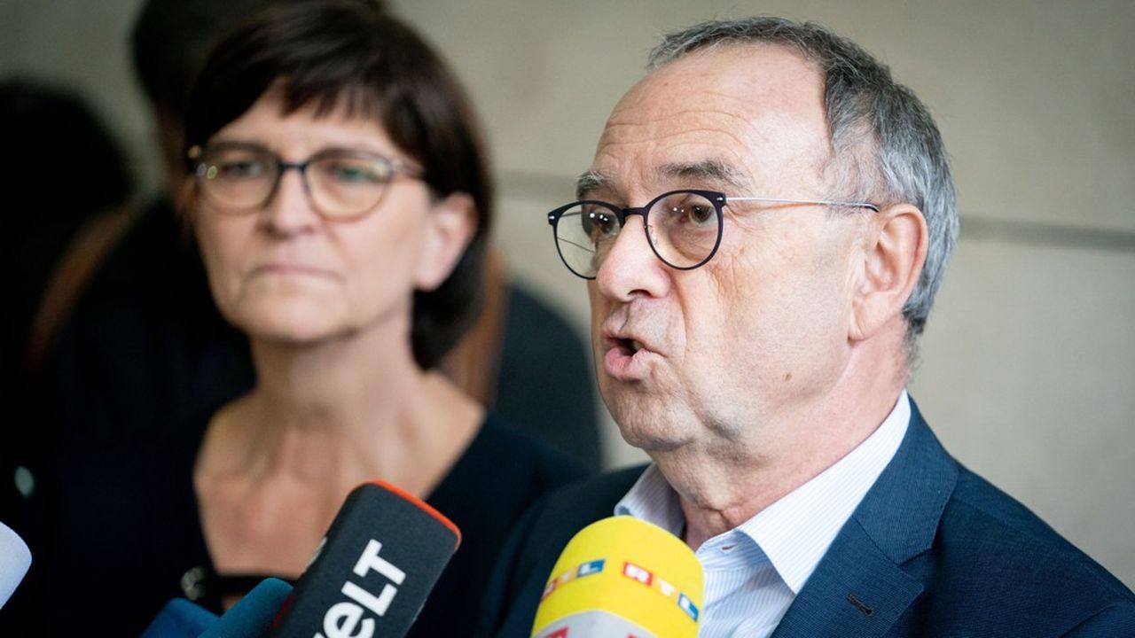 Les sociaux-démocrates allemands face au défi de la synthèse
