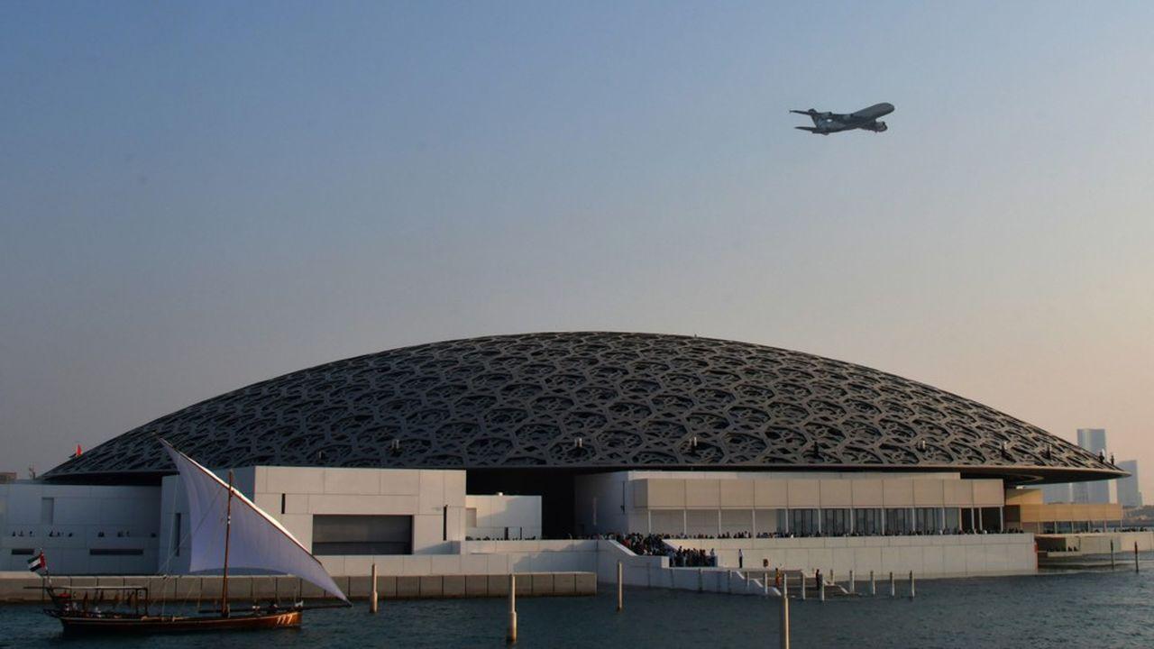 Le Louvre Abu Dhabi dessiné par Jean Nouvel et porté par l'Agence France-Muséums.