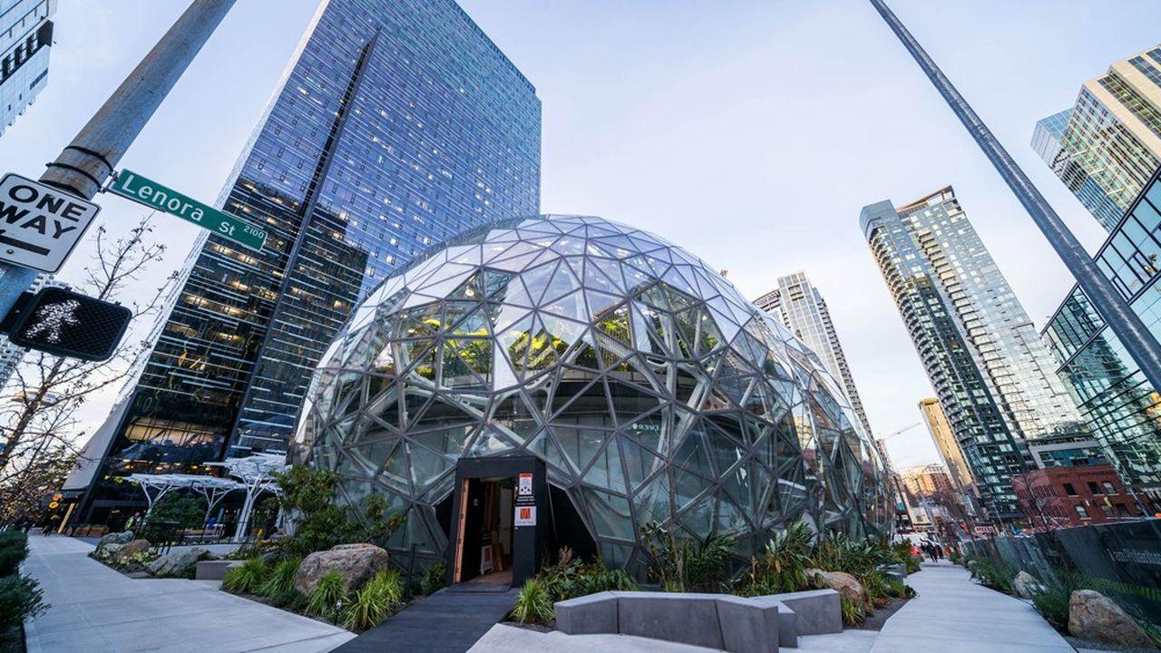 Le siège d'Amazon, à Seattle dans l'Etat de Washington.