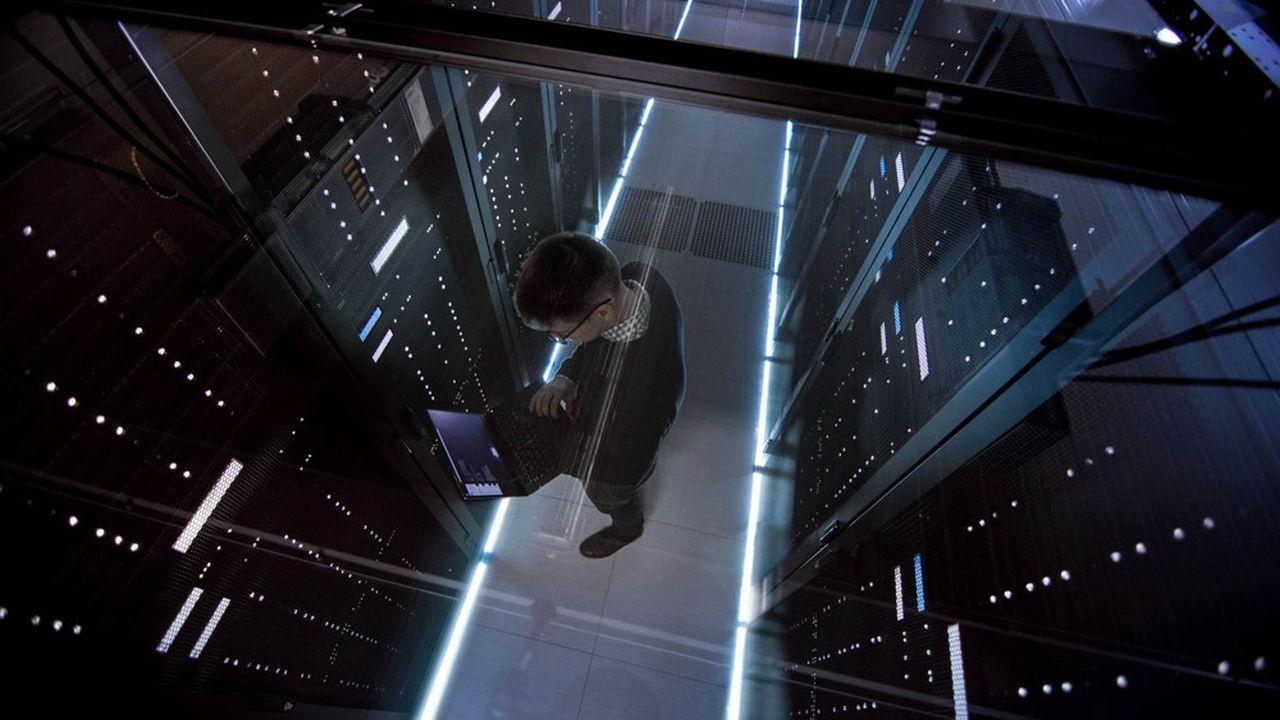 Google, Amazon (avec AWS) et Microsoft (avec Azure) dominent le marché mondial du stockage de données.