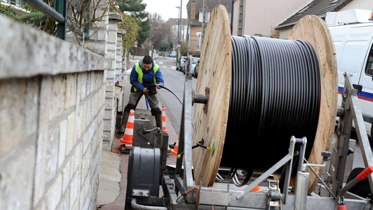 La fibre optique « made in China » progresse en France