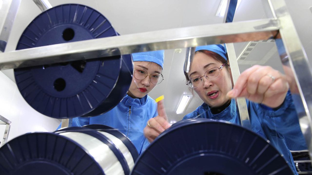 La Chine a consommé la moitié des 500millions de kilomètres de fibre optique déployés dans le monde en2018.