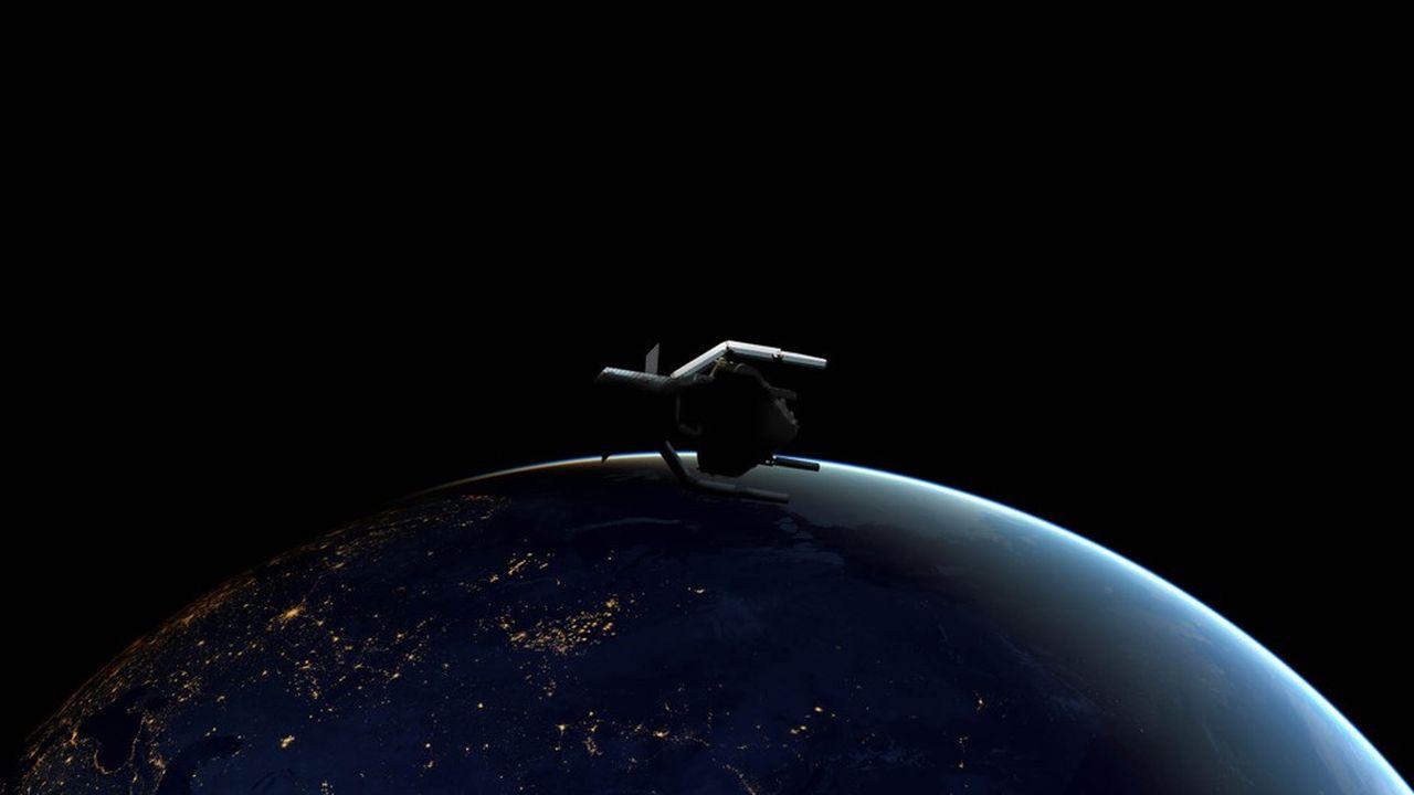 ClearSpace vise 2025 pour capturer avec des bras robotiques les restes d'un lanceur Vegaen orbite basse.