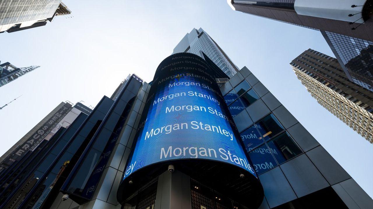 Morgan Stanley, dont le siège se trouve en plein coeur de Manhatttan, employait 60.532 personnes au 30septembre.
