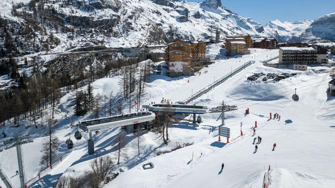 La Compagnie des Alpes, qui exploite de grands domaines skiables alpins, notamment celui de Tignes (notre photo), envisage leur ouverture dans «de bonnes conditions» cette année. En outre, le niveau des réservations est supérieur.