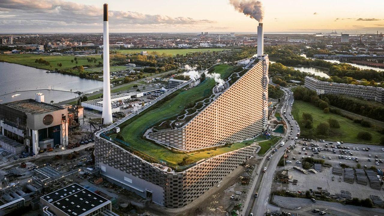 Amager Bakke -centre de valorisation des déchets avec récupération d'énergie