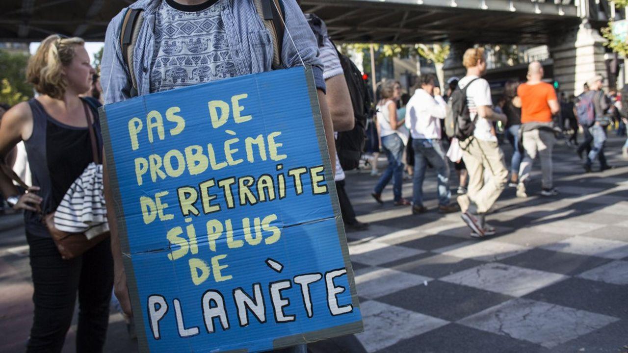 Réforme des retraites et climat : même combat