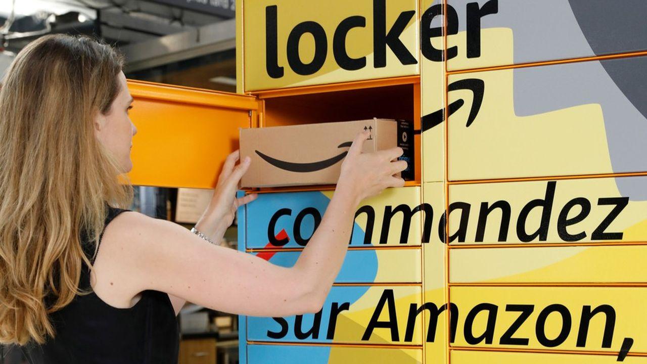 Consignes automatisées : Amazon accélère, à contre-courant du marché