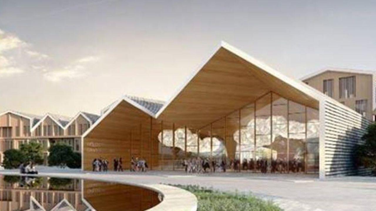 Le projet du futur campus européen de formation de Deloitte.