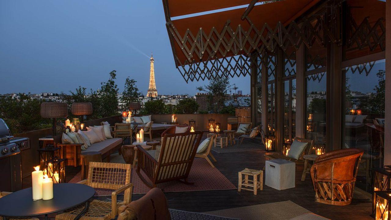 Au Brach, dans le 16e arrondissement, le restaurant affiche 800 couverts par jour.