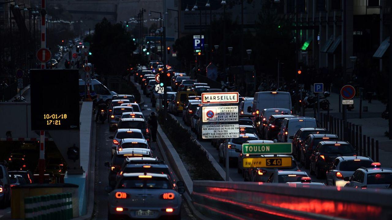 Marseille figure en dernière position du classement établi par trois ONG dans la lutte contre la pollution de l'air.