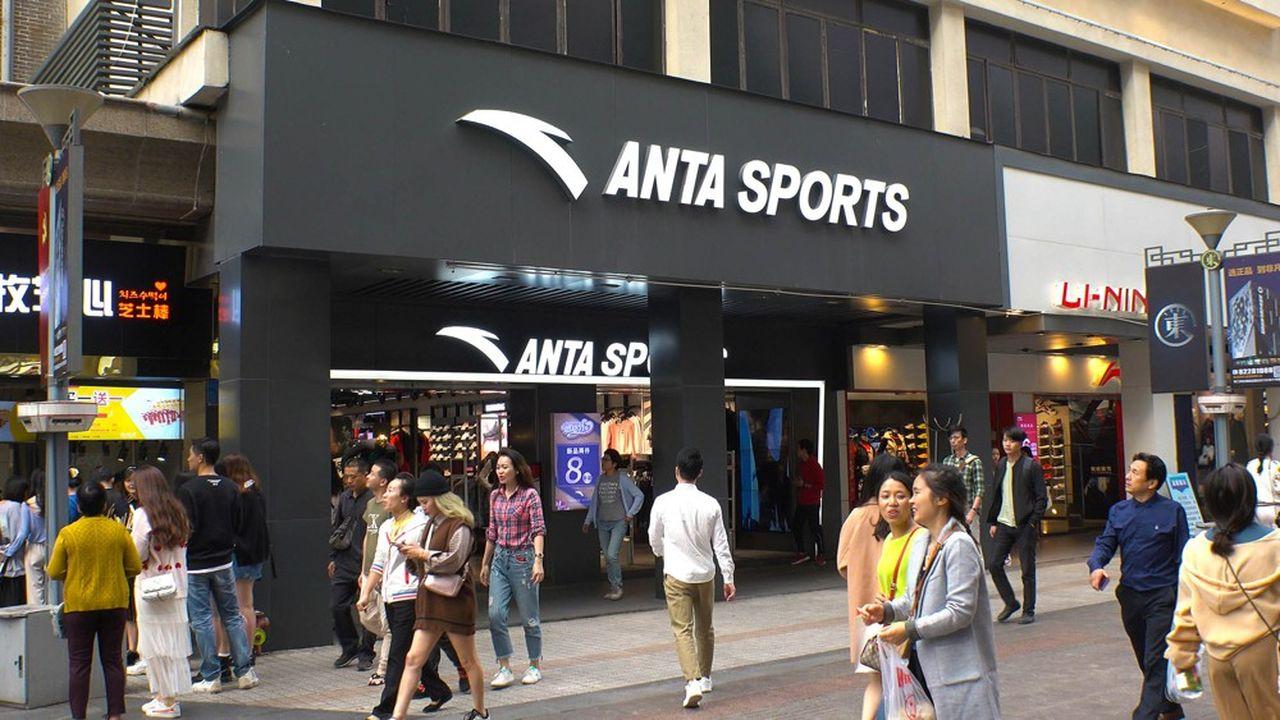 Anta et Li Ning, le duo chinois qui veut bousculer Nike et Adidas