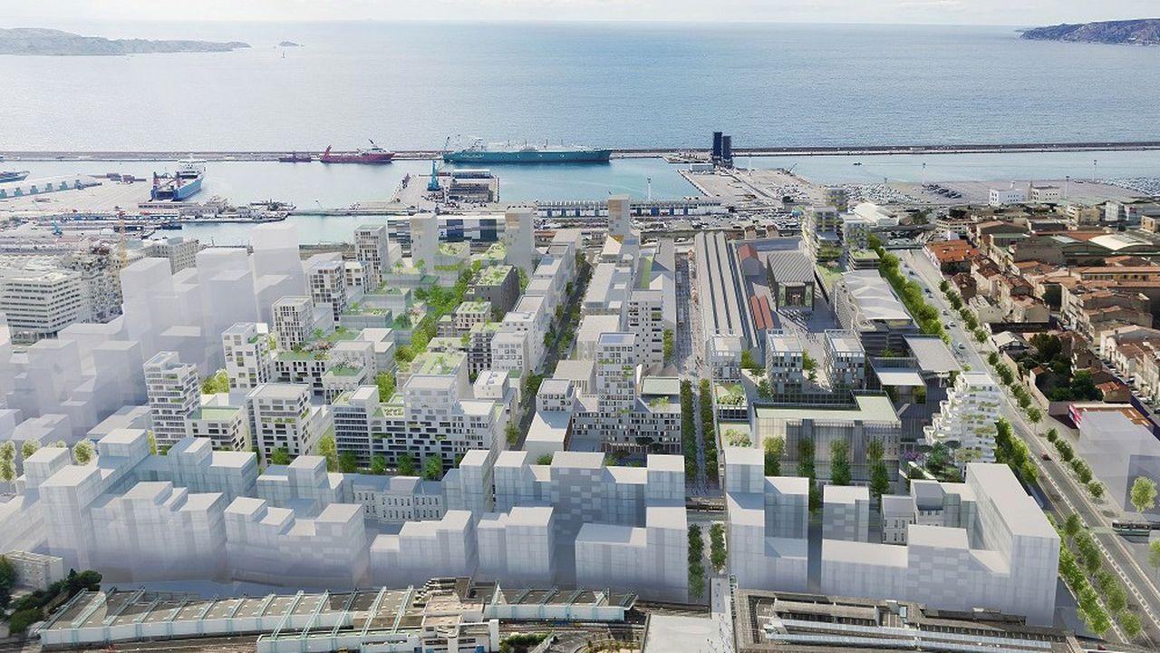 Quartier des Fabriques Marseille
