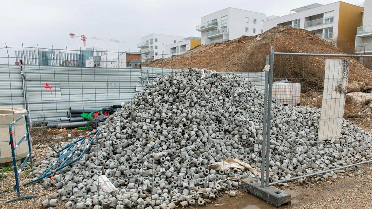 Bras de fer sur la gestion des déchets du Bâtiment