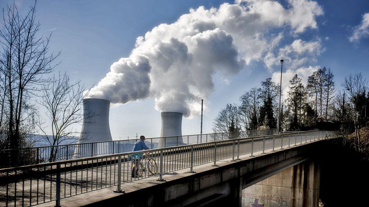 Electrabel, la filiale belge d'Engie, opère sept tranches nucléaires réparties dans deux centrales à Tihange (photo) et Doel.