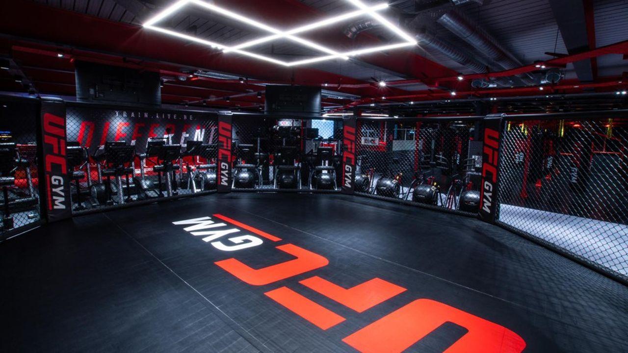 La PME a équipé en Angleterre deux des premières salles de sport de UFC Gym.