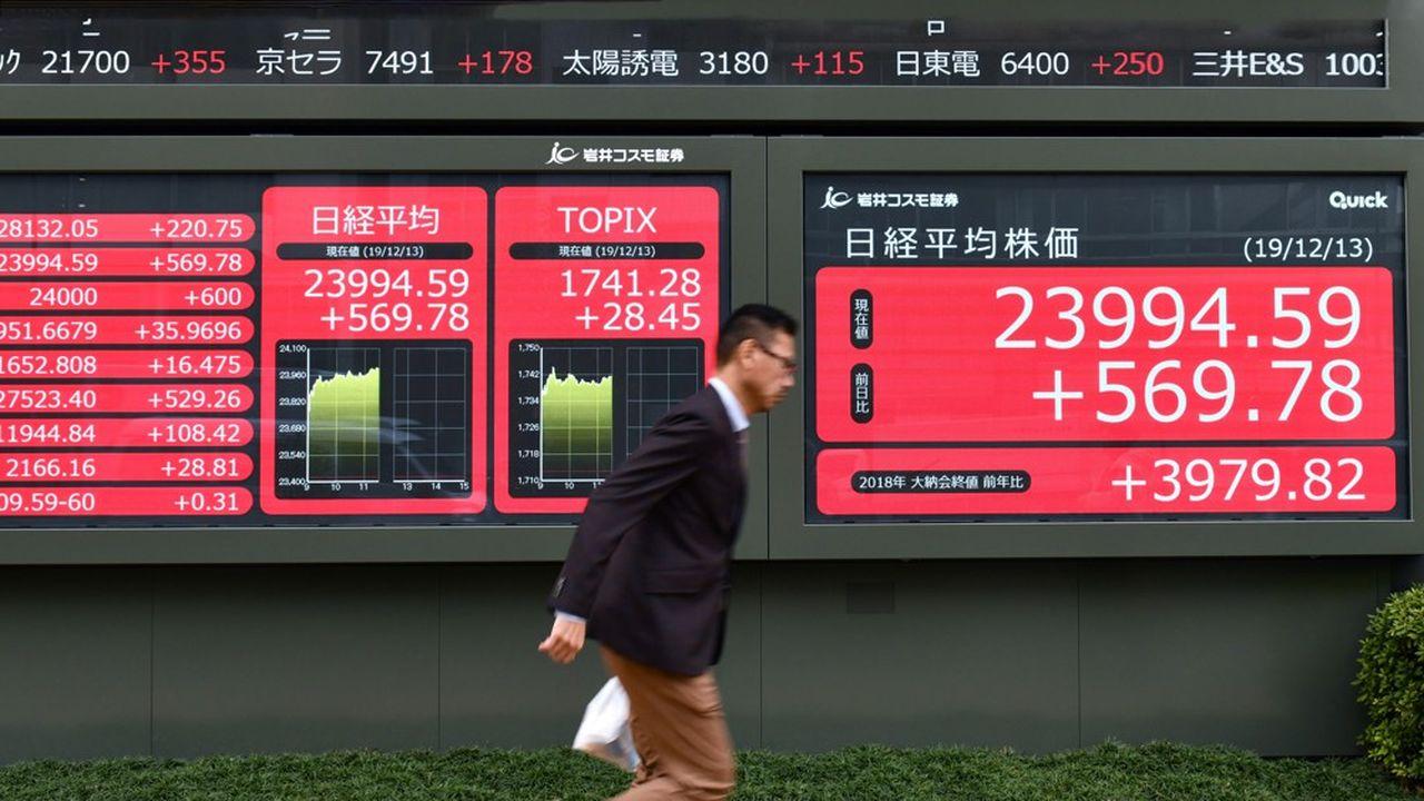 Ces dernières semaines, les marchés financiers de la région avaient hésité entre plusieurs tendances et s'étaient agacés des incertitudes pesant sur la conjoncture mondiale.