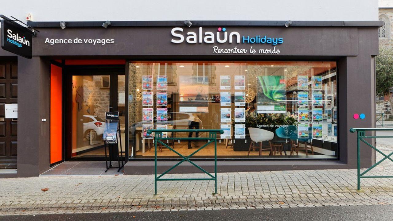 Ce rachat permet au groupe familial breton situé à Pont-de-Buis (Finistère) de frôler les 200 agences de voyages.