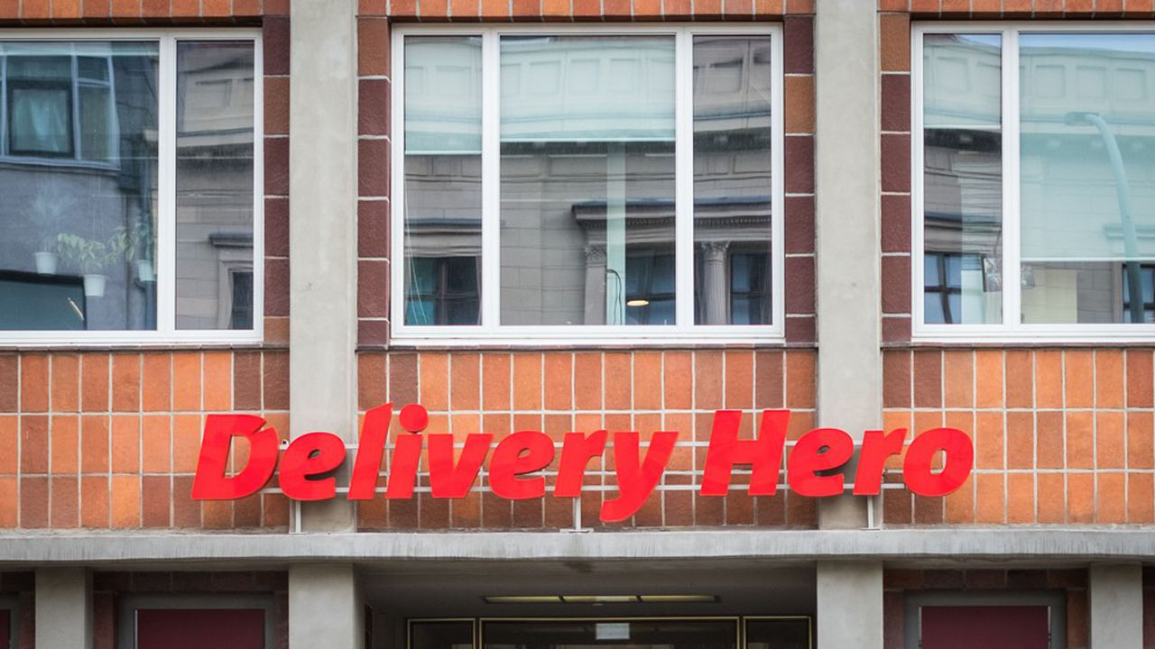 L'action Delivery Hero, cotée au MDax des valeurs moyennes à Francfort, bondissait de près de 16% à 57,82euros