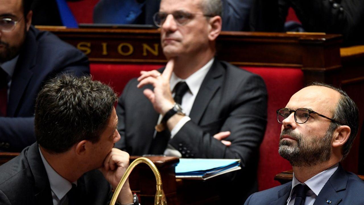 Edouard Philippe et Jean-Michel Blanquer, en décembre2018.