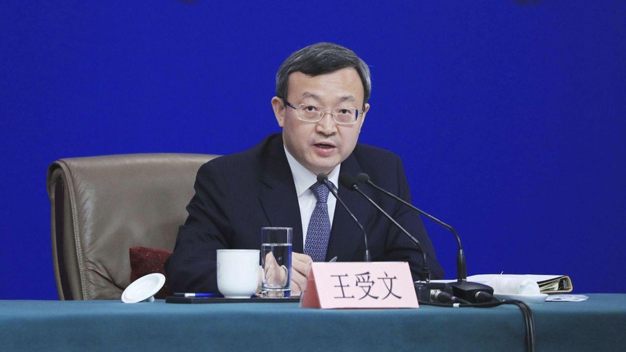 Le vice-ministre chinois du commerce Wang Shouwen a confirmé l'accord entre Pékin et Washington.